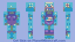 spaze polize Minecraft Skin