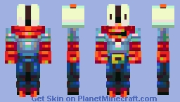 Mr. Krabs Minecraft Skin