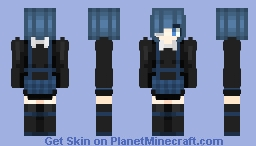 Punk lolita Minecraft Skin