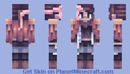The Girl Minecraft