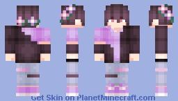 Gothic Glam Guy Minecraft Skin