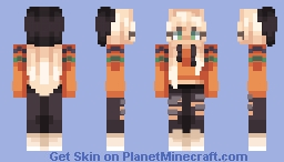 halloween FIT Minecraft Skin