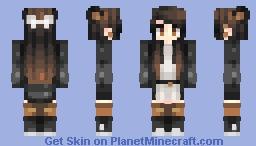 halloween-ish Minecraft Skin