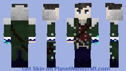 The werewolf hunter Minecraft Skin