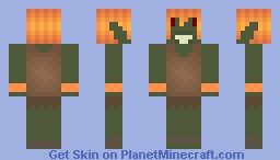 ~Goblin of Fire~ Skintober day 12 Minecraft