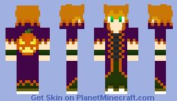 Holloween Ravar Minecraft Skin