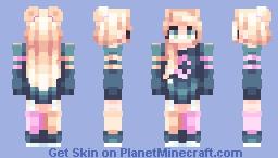 Crescent Minecraft Skin
