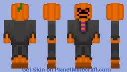 halloween skin 1 ~grim pumpkin~ Minecraft Skin