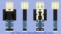 ~casual~ Minecraft Skin