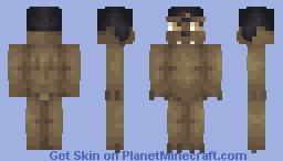 Medved is a grumpy grump Minecraft Skin