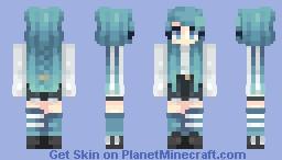 ocean aesthetics Minecraft Skin