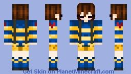 outertale frisk Minecraft Skin