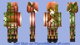 🐬O my.. Humanity is fading🐬 [Skintober 2017 Day 2 Pumpkin] Minecraft Skin