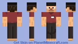 Worker Steve Minecraft Skin