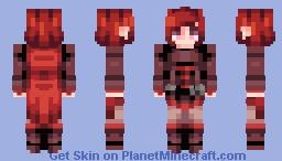 ☆ βενεℜℓγ ☆  Ruby Rose ☾   (Skintober- Day 1) Minecraft