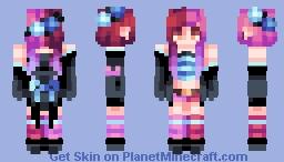 ☆ βενεℜℓγ ☆  Phobias ☾  (Skintober Day #4) Minecraft Skin