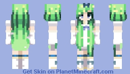 """Just a Little Flash. Before our Time.. Up in the Skie's Together.."" Minecraft Skin"