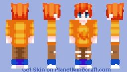 🔥Warm Fire - Opposite🔥 Minecraft Skin