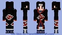 Itachi Uchiha [Akatsuki] Minecraft Skin