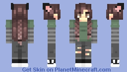 cute outside devil inside ;) Minecraft Skin