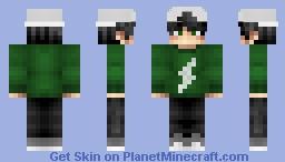 tryhard kid Minecraft Skin