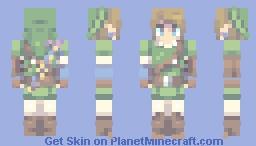 ~リンク | ゼルダの伝説 | Link | The Legend of Zelda~ Minecraft Skin