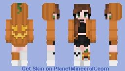 Happy Halloween~! Minecraft Skin