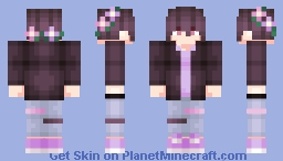 Gothic Glam Guy (Jacket On) Minecraft Skin