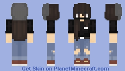 Jungkook BTS -Female- Minecraft Skin