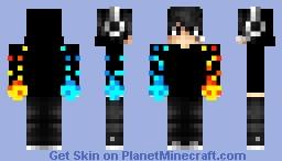 Ice And FireYT Minecraft Skin
