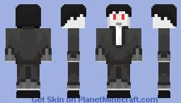 halloween skin 2 ~vampire~ Minecraft Skin