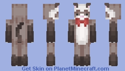 Robin the Ferrett Minecraft Skin