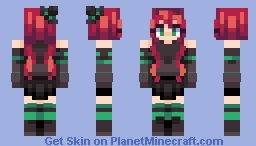 witchy witchy oppa WOW Minecraft Skin