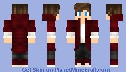 Wolf strike AMV Minecraft Skin