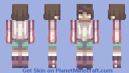 autumn in paris Minecraft Skin