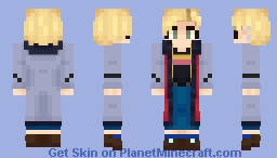 [Doctor Who] The Thirteenth Doctor Minecraft Skin