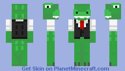 me? in the sewer? (contest) Minecraft Skin