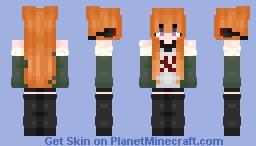 Futaba Sakura Minecraft Skin