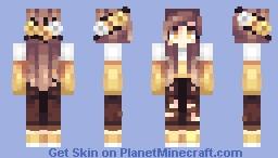 Candy Corn Minecraft Skin
