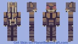 Urban Legend -Chupacabra Minecraft Skin