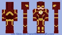 The Flash | Cw Season 4 (Updated) Minecraft Skin