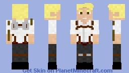 Reiner Braun | AOT V.2 Minecraft Skin