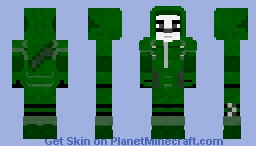 Panda Arrow | Request CW Minecraft Skin