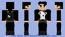 Punisher | Neflix Show Minecraft Skin