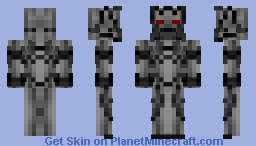 Killer Robot Minecraft Skin