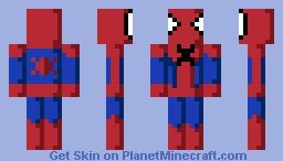 Spider-Man (Disk Wars Avengers) Minecraft Skin