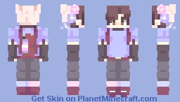 Me //first skin on pmc :P// [ art in desc ] Minecraft Skin