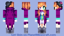 Female Version Of Ayura Minecraft Skin