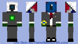 Eye of the beginning Minecraft Skin