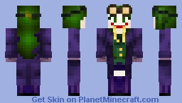 Female Joker Minecraft Skin